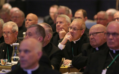 THE U.S. BISHOPS TRAVEL TO ROME